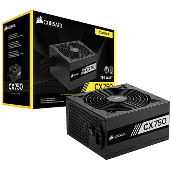 커세어 CX750 NEW 80PLUS 브론즈 파워 벌크 ATX RPS0056