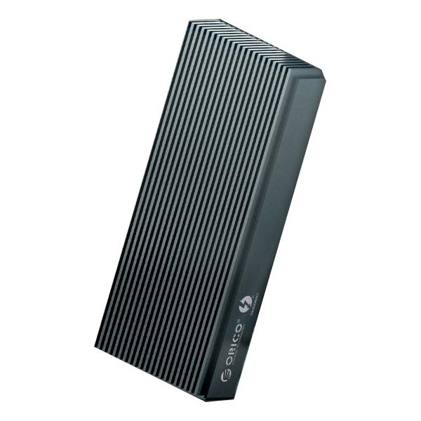 오리코 썬더볼트3 NVMe M.2 외장케이스 그레이 SCM2T3-G40