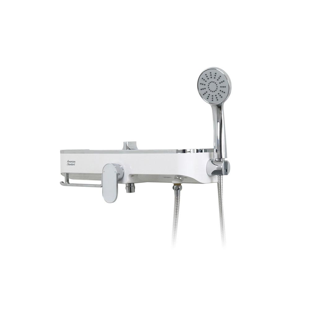 아메리칸스탠다드 큐브 선반형 욕조 샤워 수전세트 고급형 FB5786 + 마킹용 카드보드, 1세트