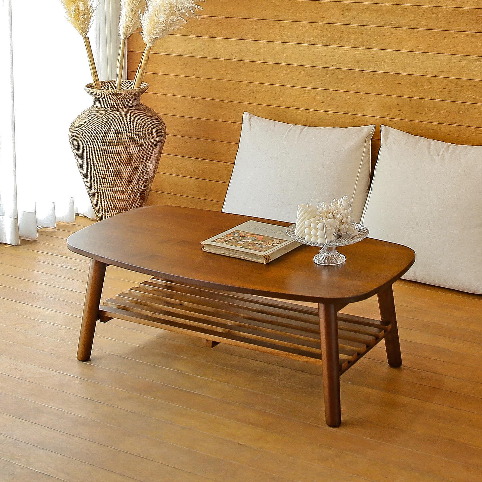 홈페리 라피네 선반 테이블, 월넛
