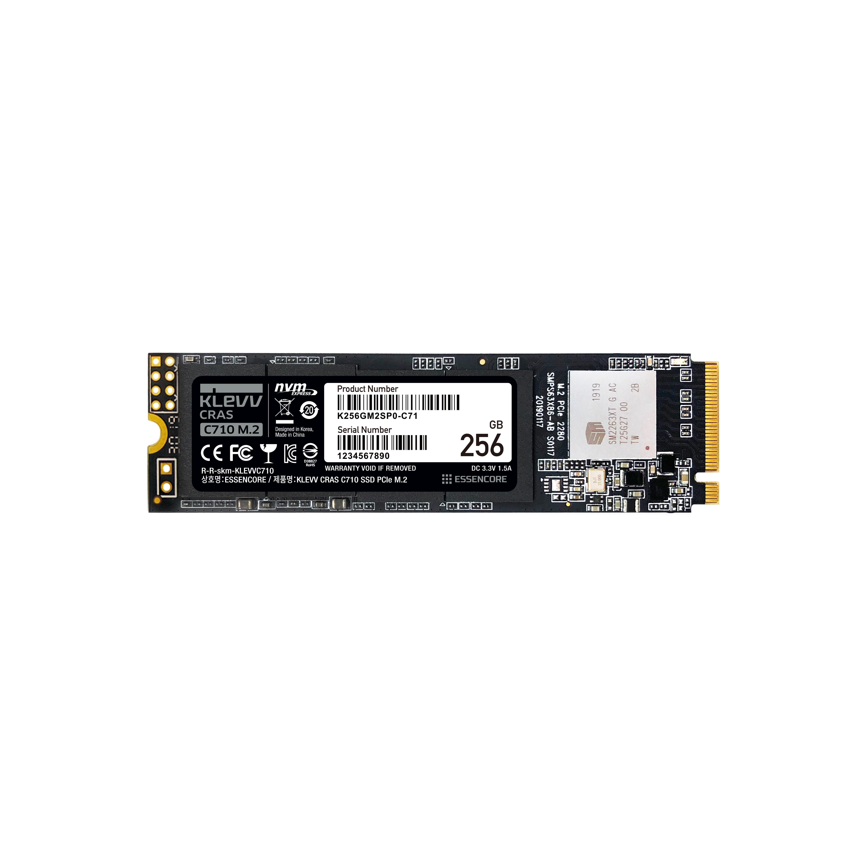 클레브 ESSENCORE CRAS C710 M.2 NVME 3D TLC SSD, K256GM2SP0-C71, 256GB