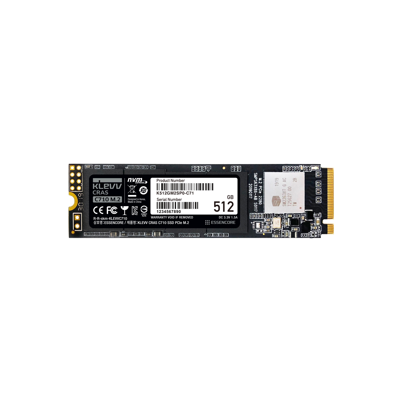 클레브 ESSENCORE CRAS C710 M.2 NVME 3D TLC SSD, K512GM2SP0-C71, 512GB