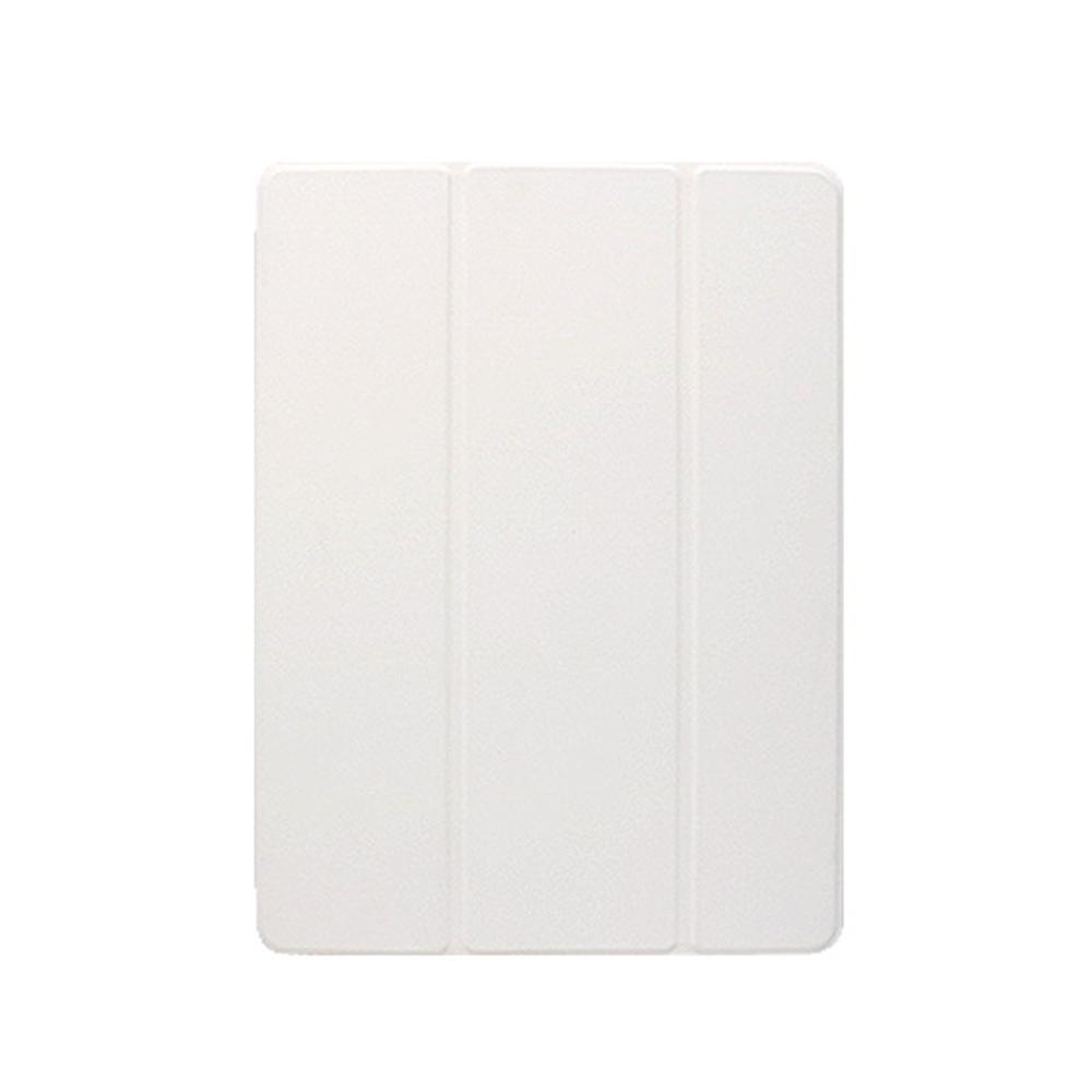 라이노 실키 스마트커버 반투명 소프트 태블릿 케이스, 화이트