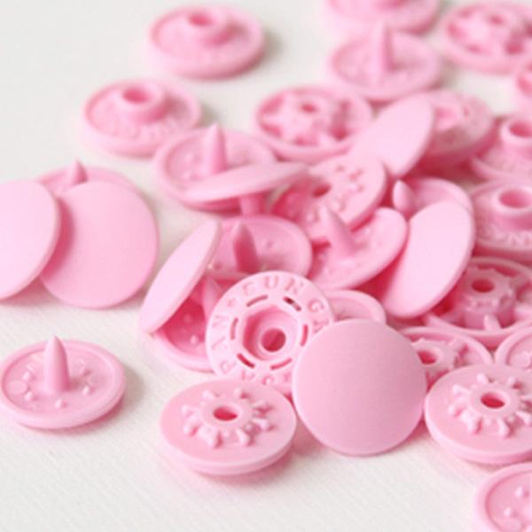 썬그립 티단추 세트 15mm, 핑크, 40세트