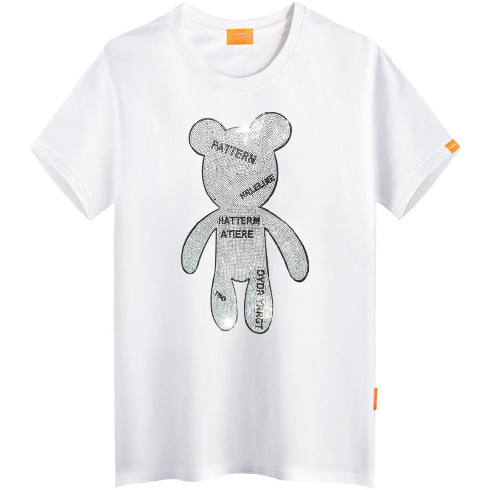 엘라모 큐빅스탠베어 반팔 티셔츠