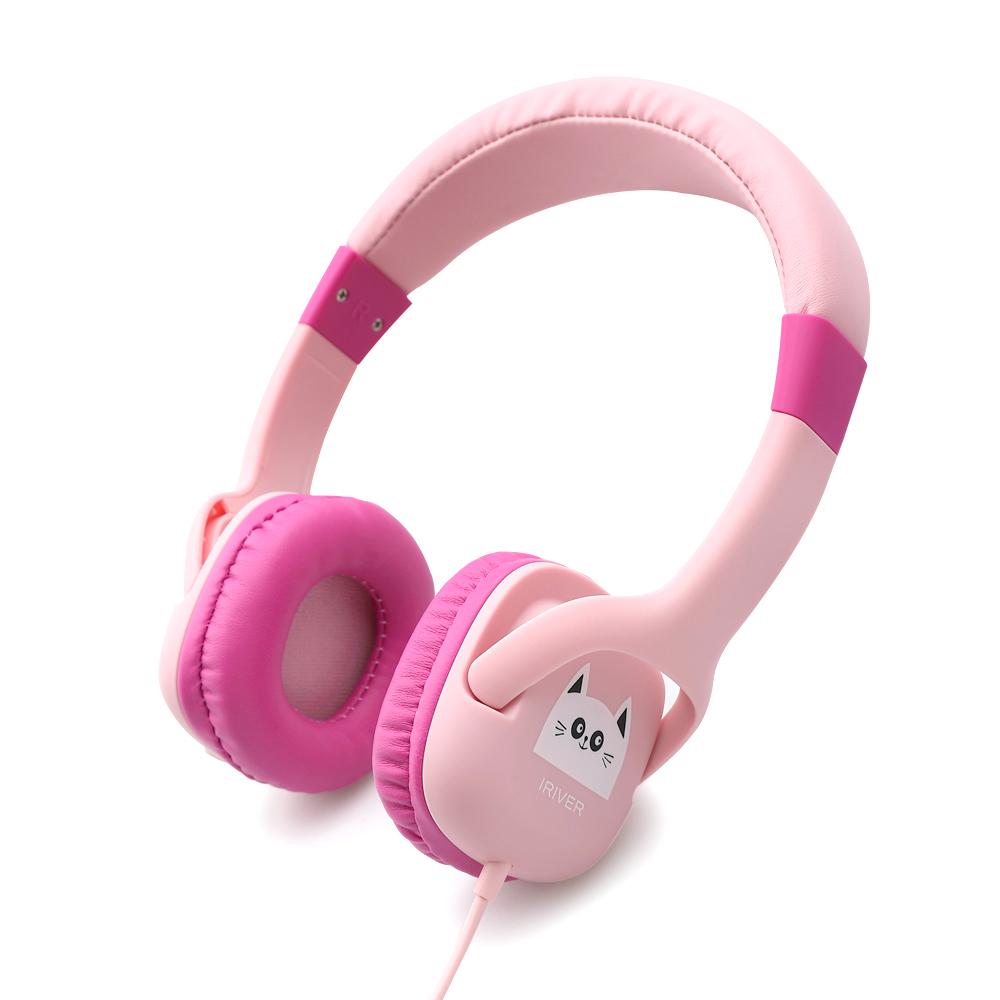 아이리버 어린이용 인강헤드셋, IKH-300i, 핑크