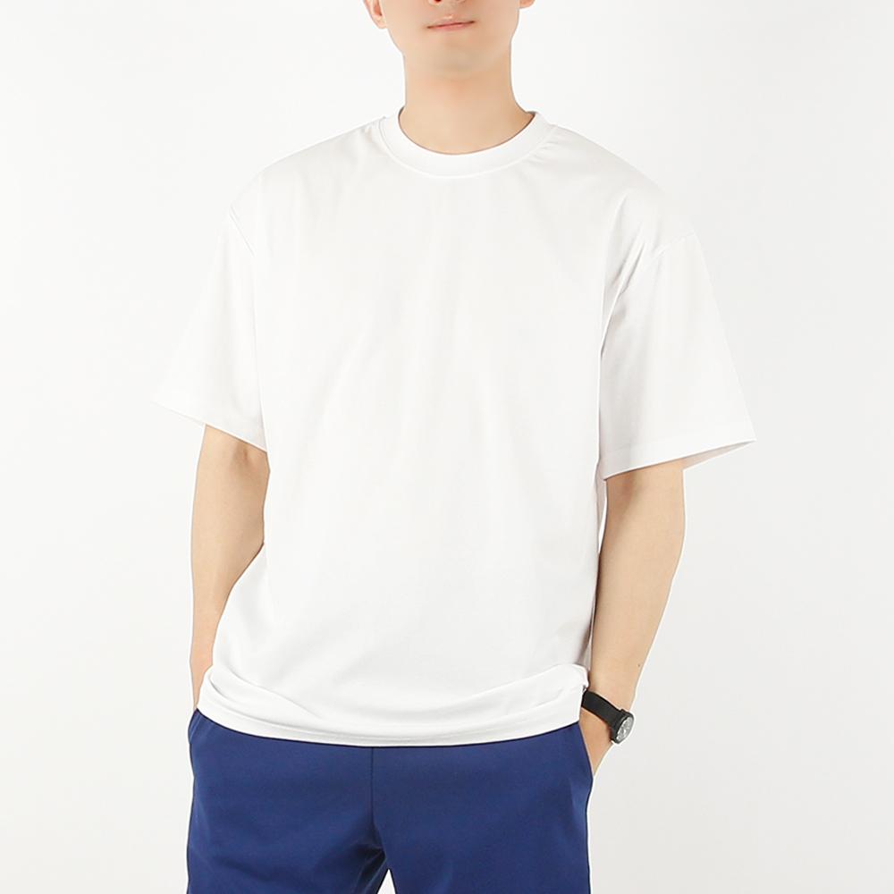 [썸머 프리핏] 빌락트 남성용 오버핏 아이스 반팔 무지 분또 티셔츠 - 랭킹76위 (13410원)