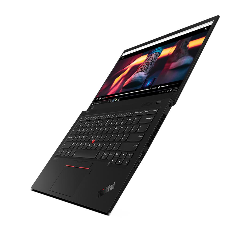 레노버 씽크패드 X1 카본 8세대 노트북 블랙 20U9000GKR (i7-10510U 35.5cm WIN10 Pro), 포함, NVMe 512GB, 16GB