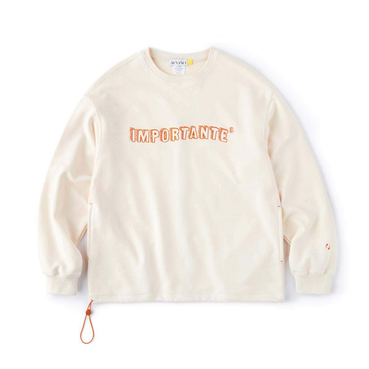 아비쏘 크루넥 스웻 셔츠