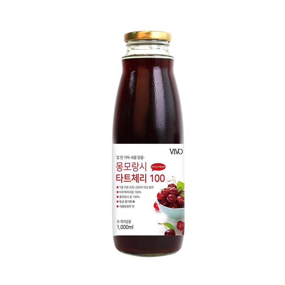 비보 몽모랑시 타트체리 주스 100, 1000ml, 1개