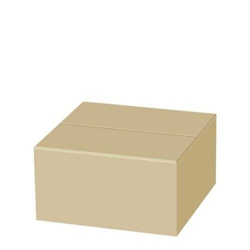 박스365 알뜰형 우체국 택배박스 2호 270 x 180 x 150 mm, 연갈색, 110개