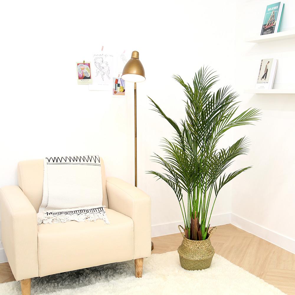 조아트 인조 나무화분 트로피칼 아레카 135cm, 혼합색상, 1개