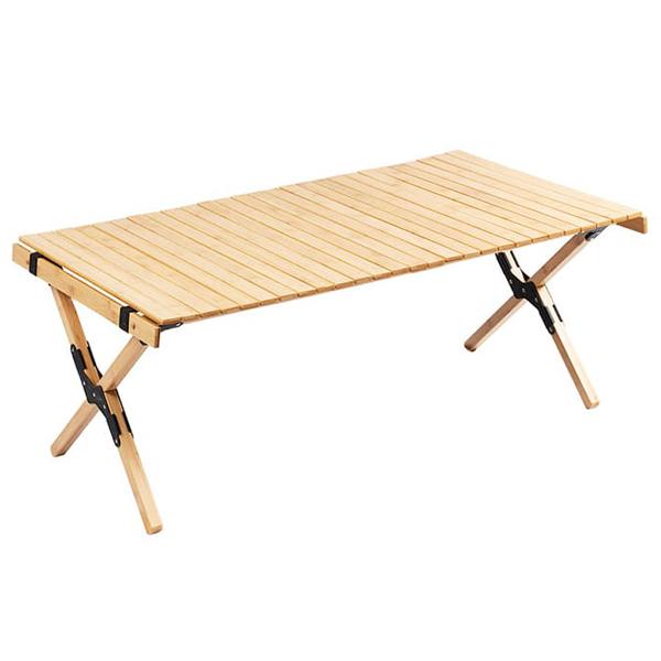 캠핑 소나무 우드롤테이블, 혼합색상