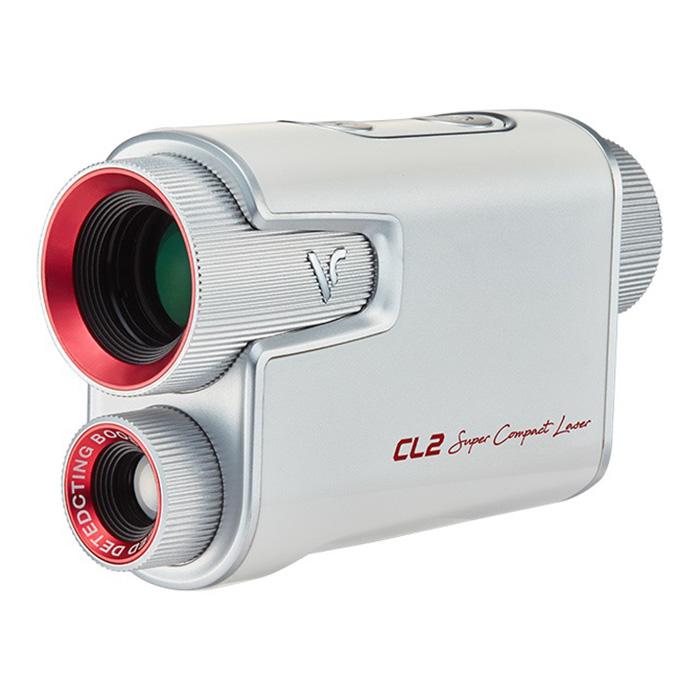 보이스캐디 레이저 골프 거리측정기, CL2, 화이트 + 레드