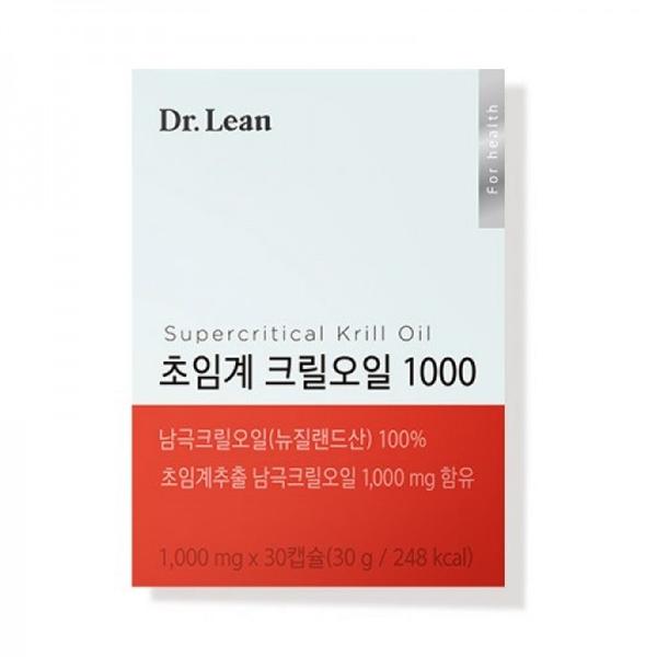 닥터린 초임계 크릴오일 1000, 30정, 1개