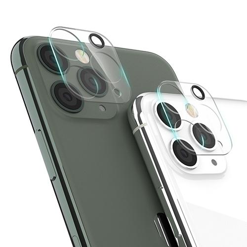 신지모루 휴대폰 카메라 렌즈 강화 유리 보호필름 2p, 1개