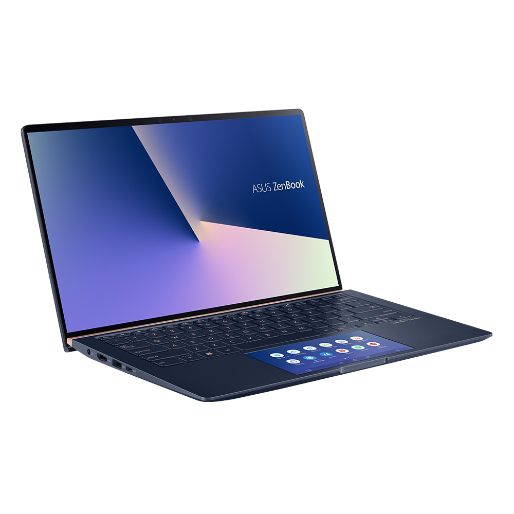 에이수스 노트북 블루 UX434FLC-A6428T (i5-10210U 35.56cm WIN10 MX250), 포함, NVMe 512GB, 16GB