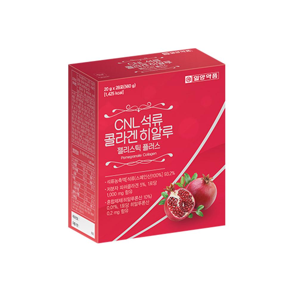 일양약품 CNL 석류 콜라겐 히알루 젤리스틱 플러스, 20g, 28개
