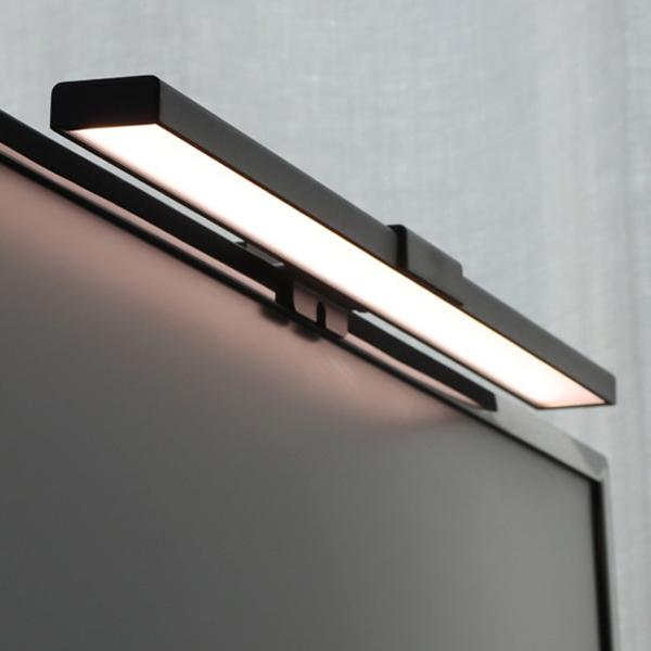 플랜룩스 모니터 클립 LED 램프, 단일색상
