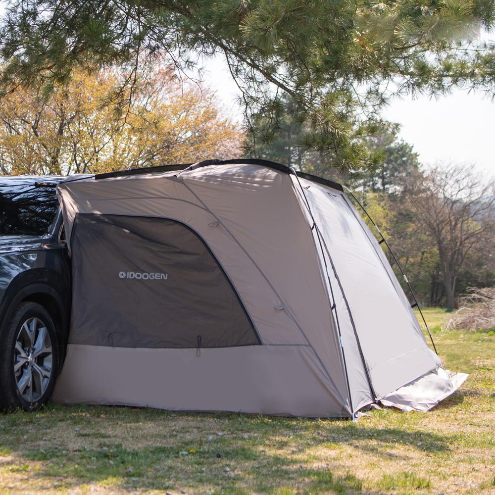 아이두젠 A1 차량용 캠핑 차박텐트, 라이트그레이