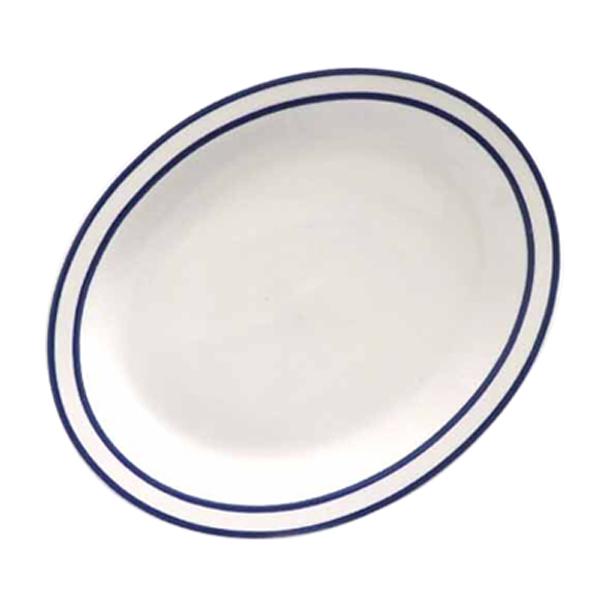 시라쿠스 라인 타원접시, 블루