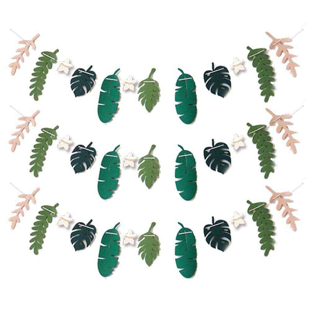 나뭇잎 가랜드 3p, 잎사귀