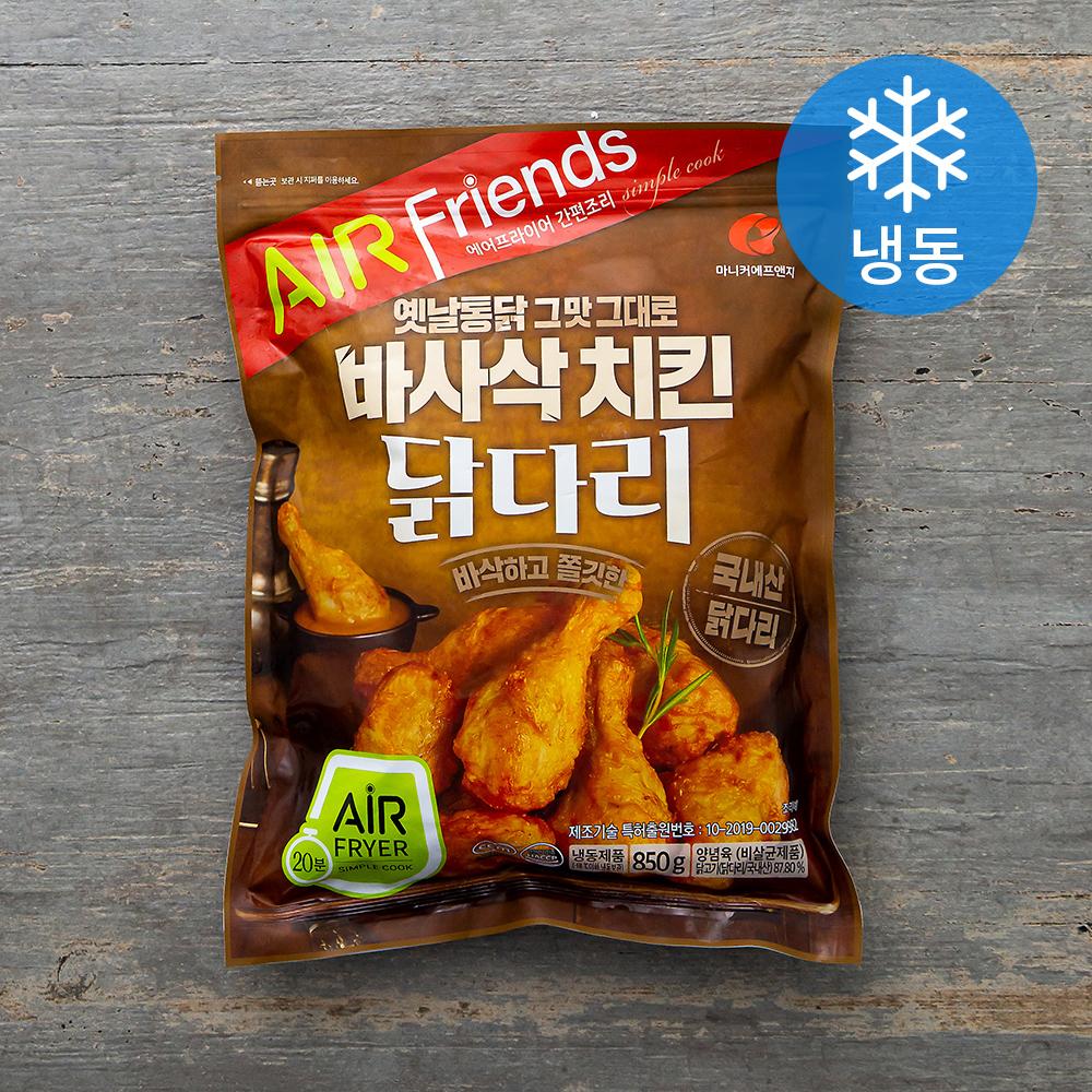 마니커에프앤지 바사삭 치킨 닭다리 (냉동), 850g, 1개