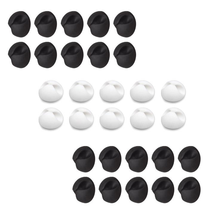 어반카 케이블 바이트 블랙 20p + 화이트 10p 세트, 1세트