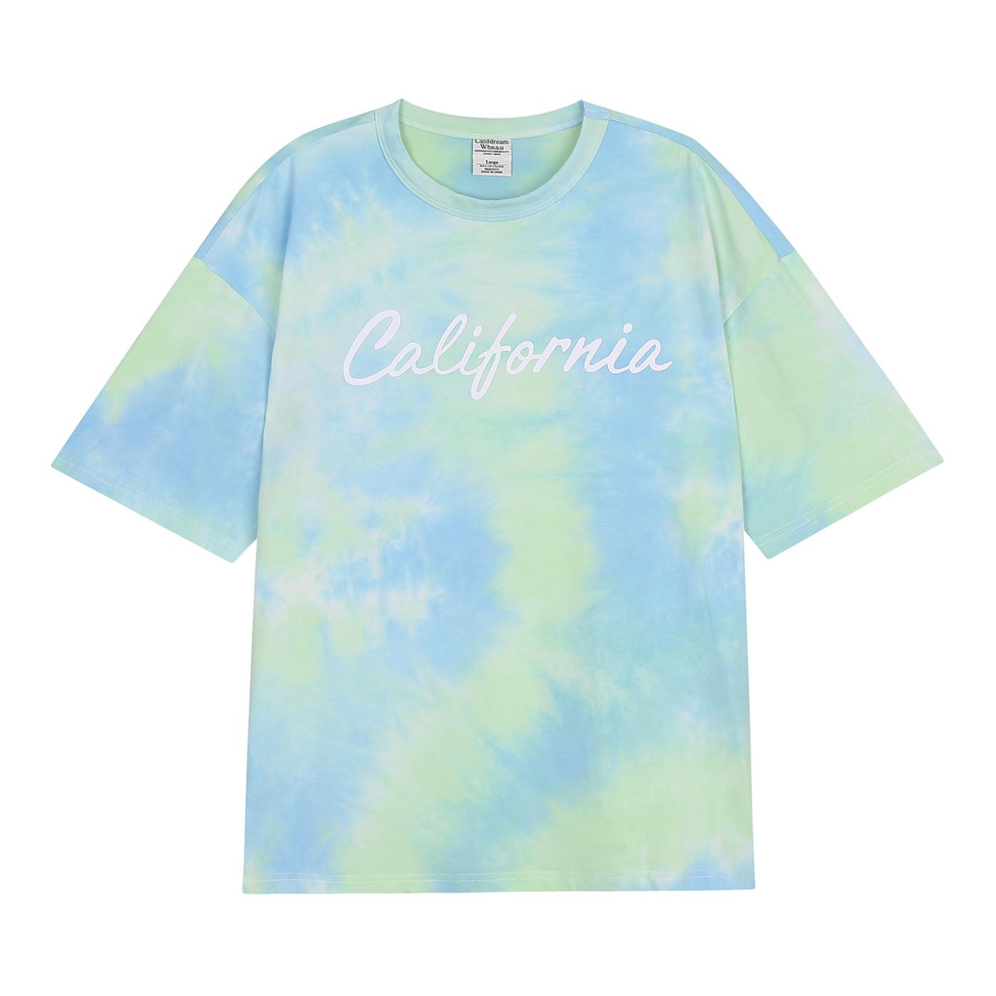 후아유 남여공용 파스텔 타이다잉 티셔츠 WHRAA3797U