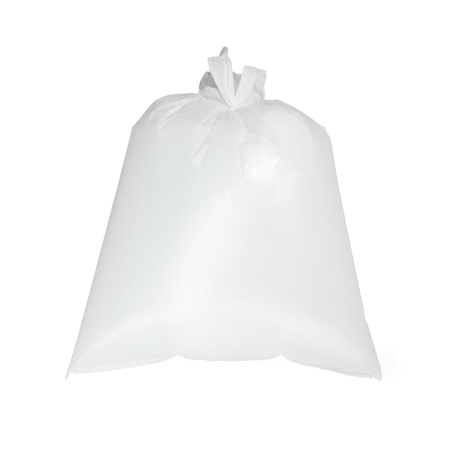 킹스봉 평판형 분리수거 비닐 봉투 백색, 20L, 100개