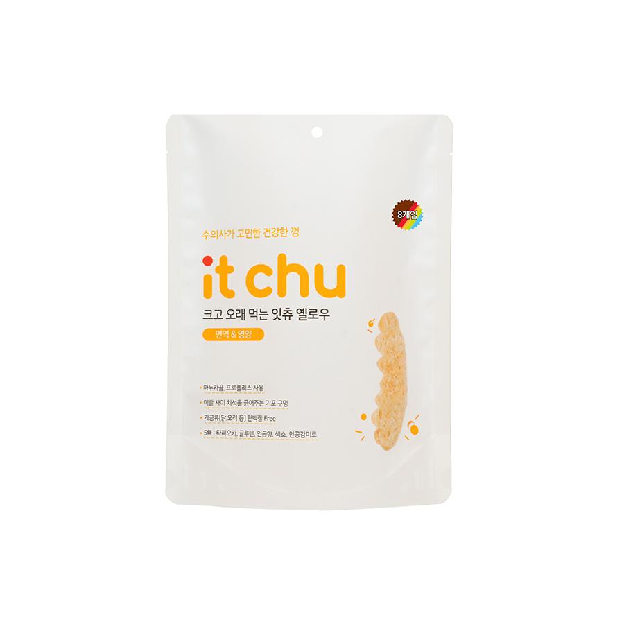 잇츄 옐로우 강아지 덴탈껌 8개입, 마누카꿀+프로폴리스 혼합맛, 1개