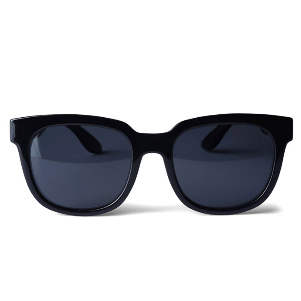 오클랜즈 편광 보잉 패션 선글라스 Q3, Q301 유광 블랙 프레임 + 스모그 렌즈