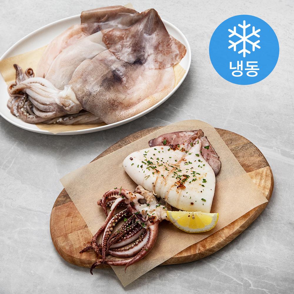 국산 손질 오징어 (냉동), 1.3kg, 1개