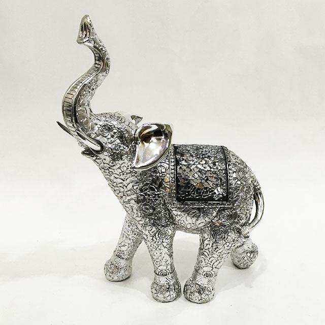 장미 코끼리 장식소품 LK86249, 혼합색상
