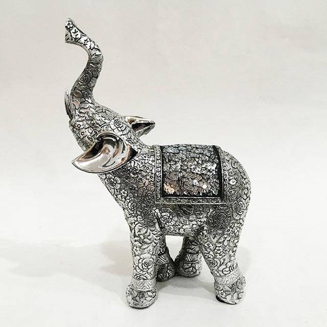 장미 코끼리 장식소품 LK86292, 혼합색상