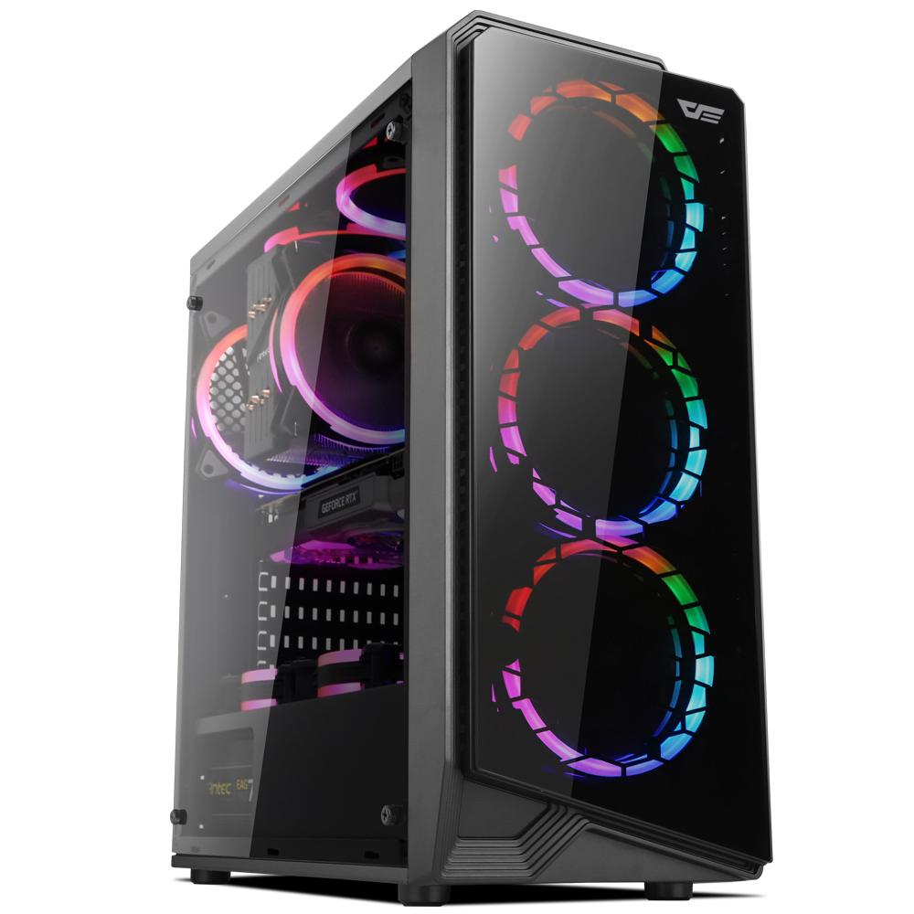 프리플로우 조립 PC GAMING CREATOR 3355X (라이젠3 3300X WIN미포함 RAM 8GB SSD 240GB RX5500XT), 기본형