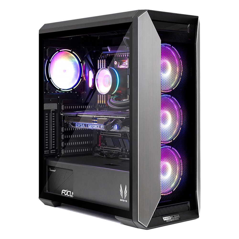 프리플로우 조립 PC ULTRA GAMING i7 (i7-10700K WIN미포함 RAM 16GB NVMe 500GB RTX2060 SUPER), 기본형