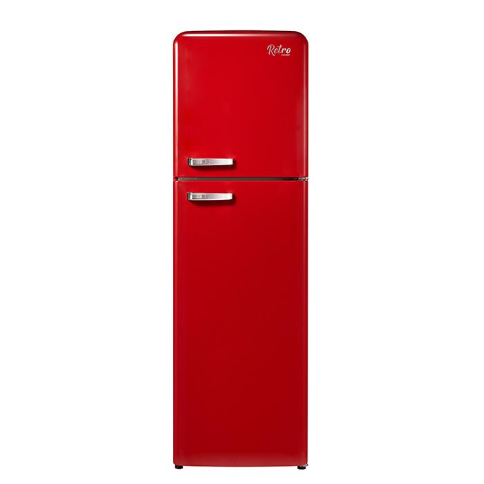 캐리어 레트로 클라윈드 냉장고 레드 255L 방문설치, CRF-TN251RDR