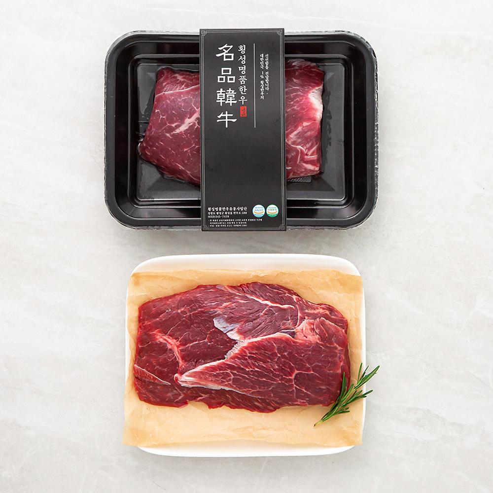 횡성한우 알사태 1등급 이상 수육용 (냉장), 300g, 1팩