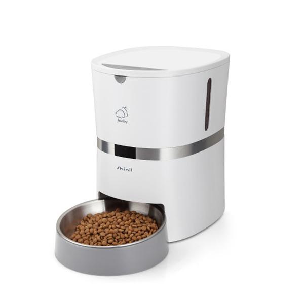 신일 퍼피 강아지 고양이 음성녹음 자동 급식기 SIP-PFD38W, 2.1kg, 혼합색상