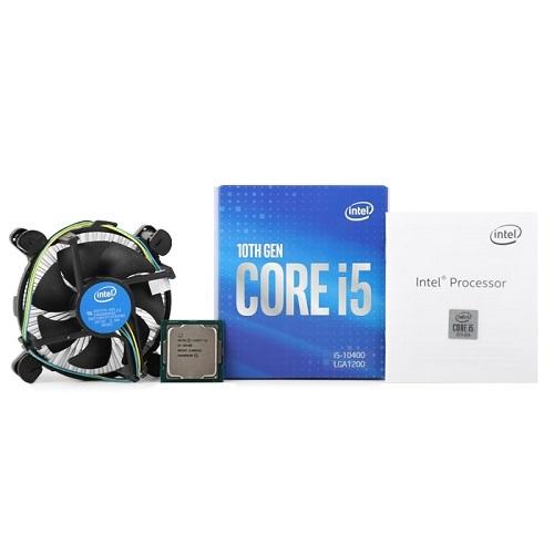 인텔 코어 코멧레이크 S CPU 10세대 i5-10400, 단일상품