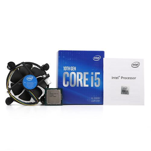 인텔 코어 코멧레이크 S CPU 10세대 i5-10600, 단일상품