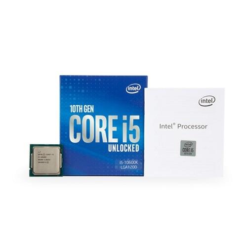 인텔 코어 코멧레이크 S CPU 10세대 i5-10600K