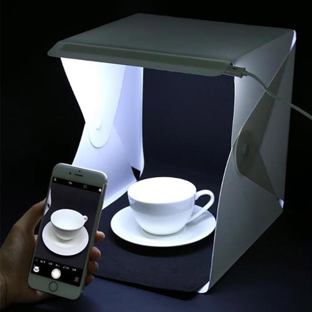 스마토이 LED 조명 2줄 미니 스튜디오 포토박스 중, 단일상품, 1개