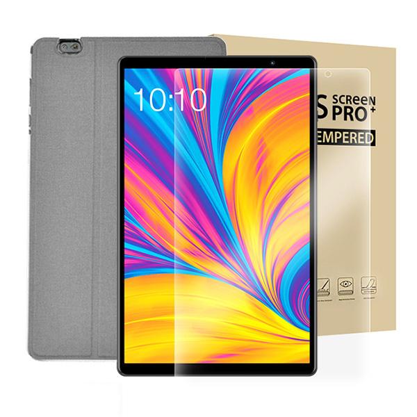 태클라스트 옥타코어 LTE 태블릿PC + 강화유리필름 + 전용 케이스 세트, P10HD, 그레이