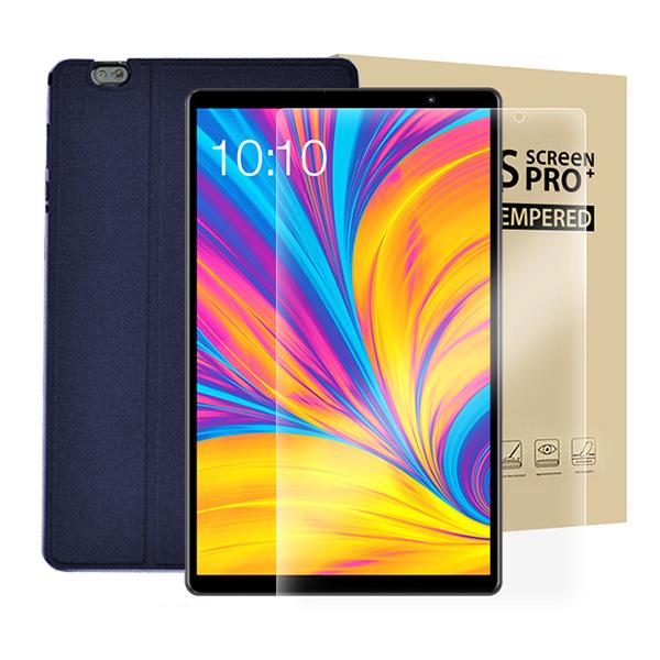 태클라스트 옥타코어 Wi-Fi 태블릿PC + 강화유리필름 + 전용케이스 세트, P10HD, 블루