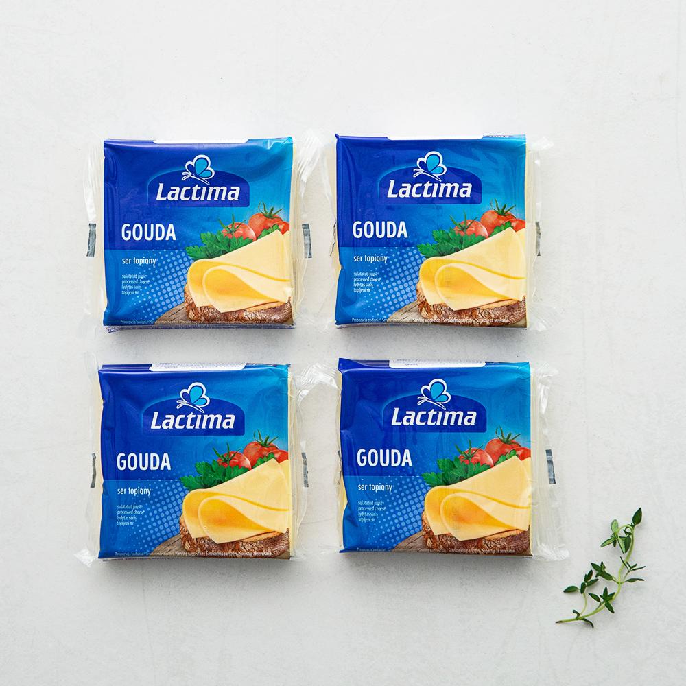 고다 슬라이스 치즈, 130g, 4개