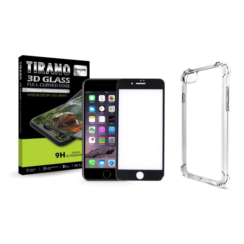 티라노 3D 프리미엄 풀커버 강화유리 휴대폰 액정보호필름, 1개