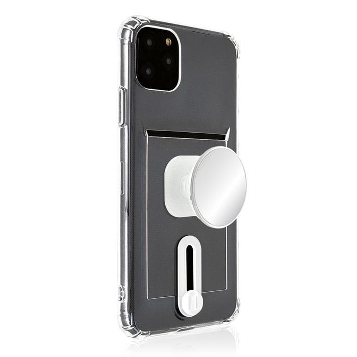 SMC 미러톡 슬라이드 카드수납 범퍼 휴대폰 케이스