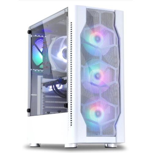 대한컴퓨터샵 노마드73 조립PC 화이트 (i7-9700F WIN미포함 RAM 16GB SSD 240GB GTX 1660 SUPER), 단일상품, 기본형